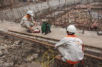 Quan trắc chuyển dịch tường vây bằng Inclinometer – N04 khu đô thị Đông Nam Trần Duy Hưng